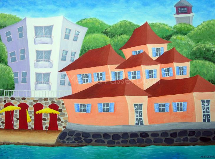 """""""Cap d' Antibes"""" by Melissa Fassel Dunn"""