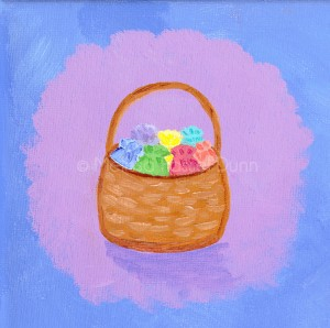 """Goodie Basket"" by Melissa Fassel Dunn for the book Meet Miss Molly"
