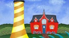 """Lit Up Lighthouse"" by Melissa Fassel Dunn"