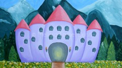 """""""A Castle for my Girl"""" by Melissa Fassel Dunn"""