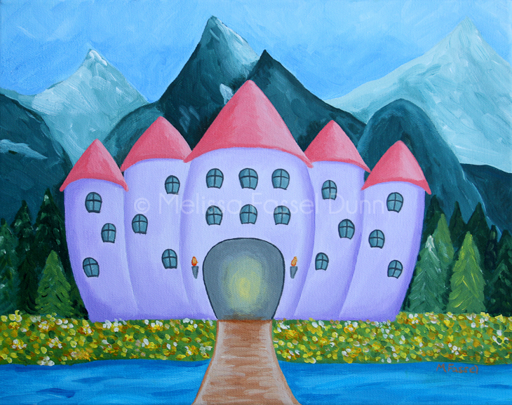 """A Castle for Elise"" by Melissa Fassel Dunn"