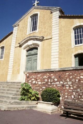 Roussillon Church, 2003. Photo by Melissa Fassel Dunn
