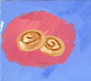 """Cinnamon Buns"" by Melissa Fassel Dunn for the book Meet Miss Molly"