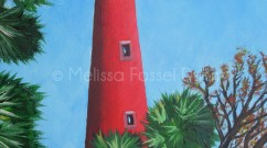 Ponce de Leon Lighthouse painting by Melissa Fassel Dunn