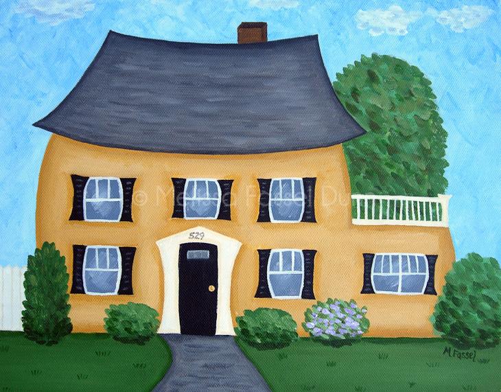 """Franklin Street"" by Melissa Fassel Dunn"