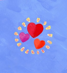 """""""Heart Trio"""" by Melissa Fassel Dunn for the book Meet Miss Molly"""