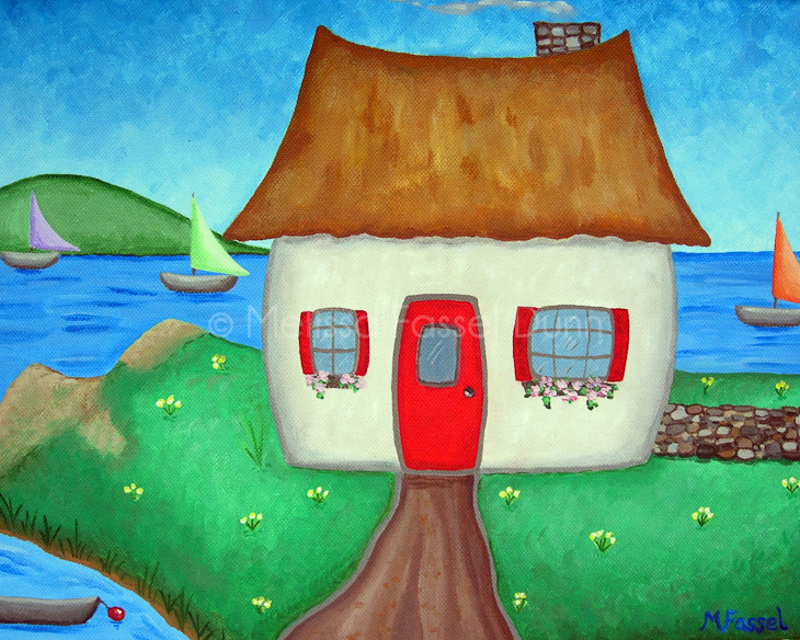 """Irish Cottage"" by Melissa Fassel Dunn"
