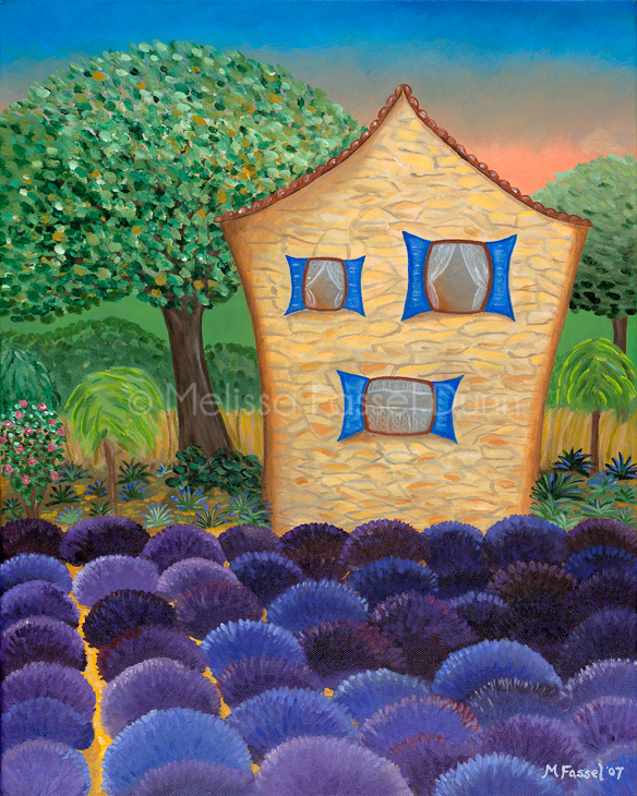 """Lavender Fields"" by Melissa Fassel Dunn"