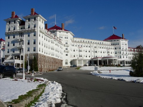 Mt. Washington Hotel, October 2005. Photo by Melissa Fassel Dunn