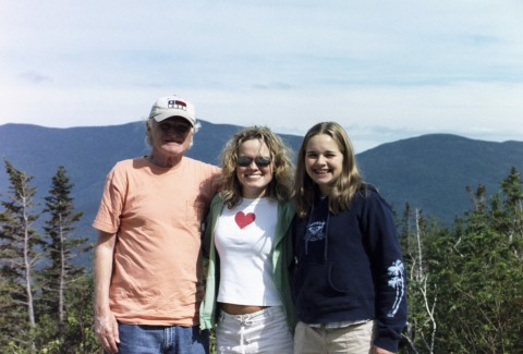 Trip to NH with Dad and Courtnei. Auto-Photo by Melissa Fassel Dunn