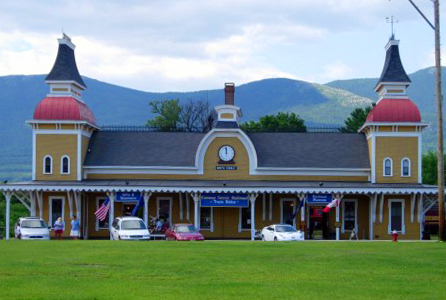 North Conway Train Station. Photo by Melissa Fassel Dunn