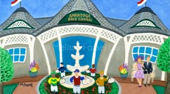 """""""Saratoga Race Course"""" by Melissa Fassel Dunn"""