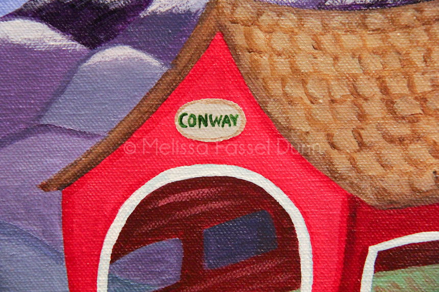 """Conway Covered Bridge,"" by Melissa Fassel Dunn"