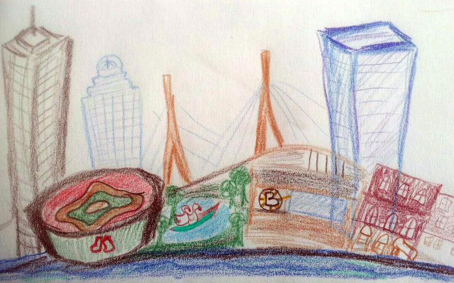A Bit O'Boston sketch by Melissa Fassel Dunn