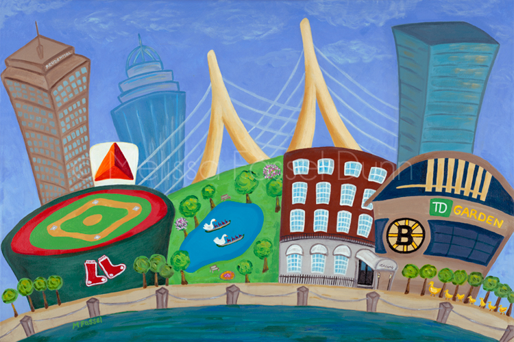 """A Bit O'Boston"" by Melissa Fassel Dunn"