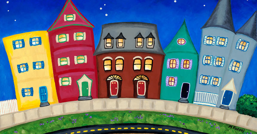 """""""Columbia Road"""" by Melissa Fassel Dunn"""