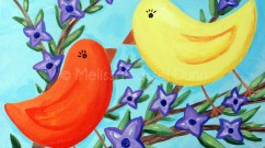 """Lovebirds"" by Melissa Fassel Dunn"